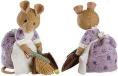 Alan Dart - Beatrix Potter - Hunca Munca - Toy Knitting Pattern