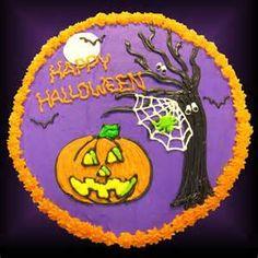 giant cookie Halloween Sweets, Halloween Baking, Halloween Cupcakes, Halloween Stuff, Fall Theme Cakes, Fall Cakes, Themed Cakes, Fun Cookies, Cupcake Cookies