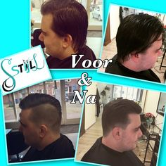 Voor en na, barberstyle, kapsalon SstijlL #barberstyle Baseball Cards, Sports, Sport