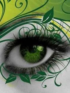 You can see everything about a person through there EYES... Green eyes!