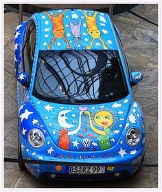 How long would it take to paint my car like this?  Love it!