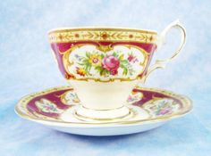Royal Albert Lady Hamilton Cup and Saucer by RichardsRarityRealm