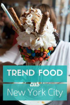 Bist du auf der Suche nach Trend Food aus New York für deine nächste Reise? Hier findest du Reisetipps für das beste Essen in New York.