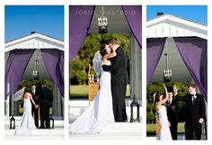 #Married!!! #wedding #country #chapel #white #purple #Florida #GrandOaksResort