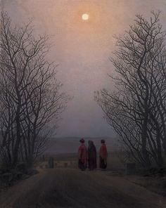 Caspar David Friedrich, Easter Morning, 1833
