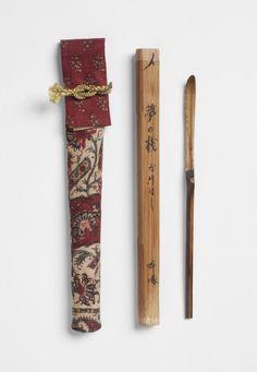 Philadelphia Museum of Art - Tea Scoop and case. Japan.