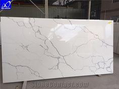 Quartz Calacatta Statuario Stone, Calacatta White Marble,Tiles Engineered Stone,Artificial Stone Slabs for Hotel Kitchen,Backsplash Walling Panel