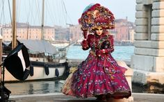 damenkostüme karneval venedig