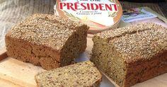 Det ligner og smager næsten som rugbrød fra bageren - forskellen er bare, at low carb brødet er glutenfrit, uden mælk og indeholder forholdsvis få kulhydrater. Køb ingredienserne og bag det efter opskriften på CDJetteDCs LCHF Lchf, Dairy Free Low Carb, Brie, Banana Bread, Carp, Food, Inspiration, Meal, Common Carp