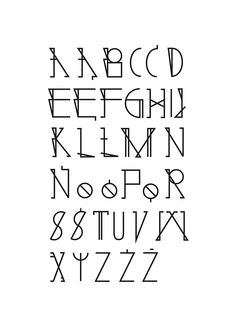 baltazar font by Nina Gregier, via Behance