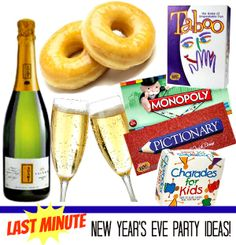 Family Fun with the Kids! #WayToGlow Last Minute New Year's Eve Party Ideas | PartyBluPrints.com