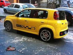 Novo Fiat Uno com rodas Fiat Uno, Vehicles, Carport Garage, Glass Display Case, Dreams, Car, Vehicle, Tools