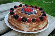 Maková torta s tvarohovým krémom - Recept