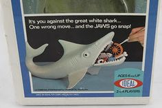 Jaws game from the 70s. My brother had this game. I had fun with it too.
