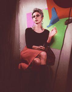 Edie Sedgwick, 1965. Andy Warhol screentest
