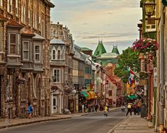 Old Quebec City.  Hopefully next year preferably during warm weather.  I had a taste of it reminded me of Boston.