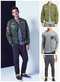 Layers are trending for fall   Scotch & Soda.