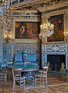 The Louis XIII Salon at Fontainebleau Royal Palace in France. | Flickr - Photo Sharing!