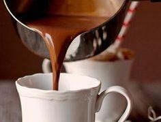 Η πιο ωραία συνταγή για ρόφημα ζεστής πηχτής σοκολάτας