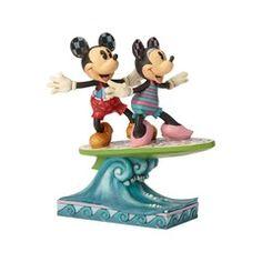 Minnie & Mickey Surfboard - 6001275