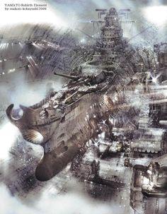 Rocketumblr   小林誠 Makoto Kobayashi 宇宙戦艦ヤマト復活篇 宇宙戦艦ヤマト2199