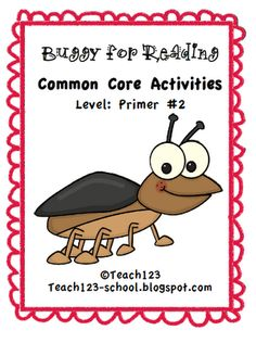 Buggy for Reading - aligned with CCSS  -Helps with fluency  FREE printables