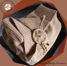 Bolsa de Crochê Domingas Maria do Nascim  http://www.elo7.com.br/bolsa-de-croche-domingas-maria-do-nascim/dp/F4A85