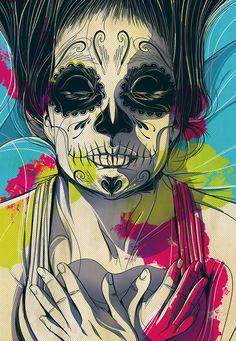 Dia de los Muertos by Cesar Moreno