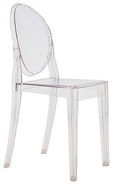 Side Chair by Lamoderno, Clear contemporary-dining-chairs