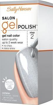 Sally Hansen Gel Polish 175 Hi Ho Silver *** Click image for more details.Note:It is affiliate link to Amazon.