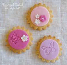 tartas y nubes de azúcar: Galletas decoradas para la Primera Comunión