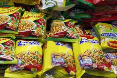 Maggi noodles are back on Indian stores shelves, five months after a food scare saw them taken off shelves. In May, Indian