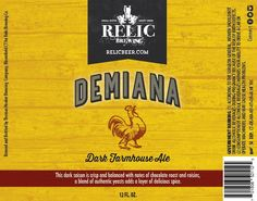 Demiana by Relic Brewing [ 12 oz. 4-Pack ]