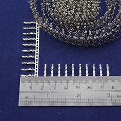 100pcs Dupont Female Pin Crimp Pin Jumper Terminal Connector Terminal Metal 2.54mm
