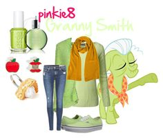 """Granny Smith outfit"" by pinkie8 ❤ liked on Polyvore featuring My Little Pony, Doublju, Swap Inside, rag & bone, Vans, Jenni Kayne, Marc by Marc Jacobs, Essie and Molton Brown"