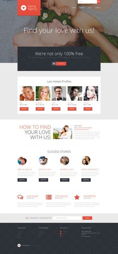 Love Romance WordPress Theme