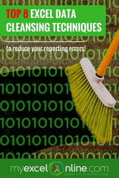 Top Excel Data Cleansing Techniques - ​You can listen to our podcast episode, I will show you the My Top Data Cleansing Techniques, including Oz du Soleil. Computer Jobs, Computer Help, Excel Icon, Excel Cheat Sheet, Cheat Sheets, Resume Tips No Experience, Data Cleansing, Excel Macros, Excel Budget Template