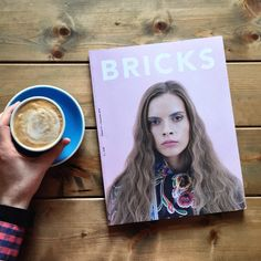 Arty magazine and artisan coffee