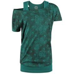 Shirt von R.E.D. by EMP:  - kurzarm - U-Boot Ausschnitt - 3 in 1 Set - beide Shirts und das Top sind einzeln tragbar - Layer-Look  Mit diesem Little Skulls Double Layer von R.E.D. by EMP erhältst Du gleich drei Teile auf einmal. Neben dem Shirt mit aufregendem Totenkopfdruck sind außerdem noch zwei Tops in diesem Set enthalten. Du kannst die Tops entweder mit dem Shirt kombinieren oder aber auch alle Teile einzeln tragen.