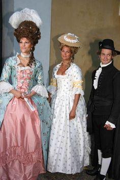 Victoria, Magdalena y Carlos Felipe de Suecia