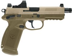 FN FNX-45 Tactical. My choice of duty weapon. 15+1 .45 ACP