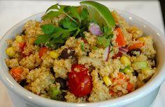 Mexican Quinoa Salad | delicious gluten free salad | kristinschell.com