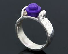 Building Block Ring  Recycled Sterling Silver  by CraigDabler