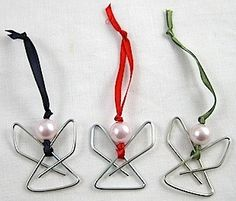 Culture Branding Easy Paperclip Angel Ornament CLICK THE IMAGE FOR MORE!!