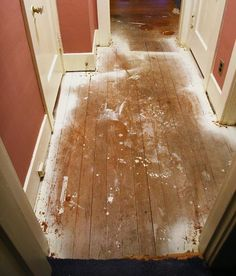 How To Remove Old Paint From Wood Floors Hardwood