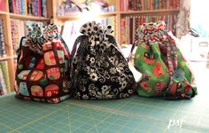 POPPYSEED FABRICS: last min present bags -Featured tutorial
