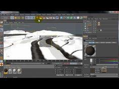 ▶ Cinema 4D tutorial: Snow Land - YouTube