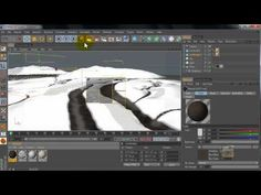 ▶ Cinema 4D tutorial: Snow Land - YouTube