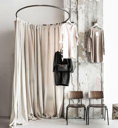 Maak je eigen in walk in closet of dressing