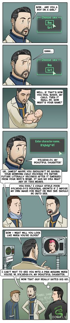 """Fallout Fatherhood"" #dorkly #geek #fallout"